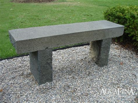 granite benches aguafina antique bench in green granite