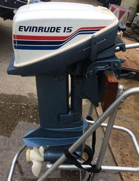 15 horse evinrude boat motor evinrude 15 hp outboard