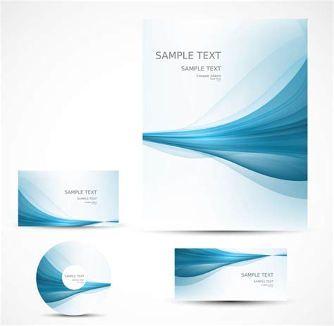 professional brochure templates free abstract professional brochure wave design presentation