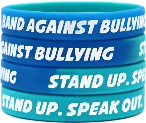 50 non bullying wristbands anti bullying bracelets