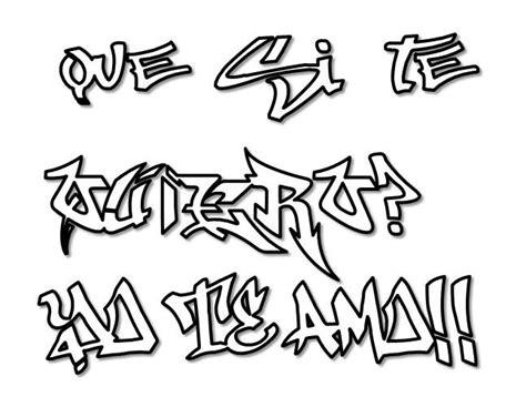 imagenes de graffitis para dibujar a lapiz de rap graffitis de amor para dibujar arte con graffiti