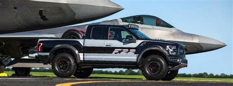F150 Fighter Jet by F 22 Fighter Jet Inspired Ford F 150 Raptor At 2017 Eaa