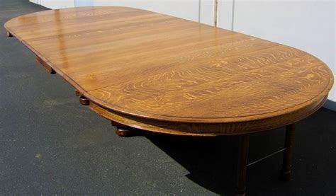 Antique Tiger Oak Dining Table Dining Table Tiger Oak Antique Dining Table