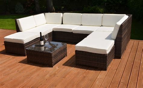 how to clean artificial rattan garden furniture simple