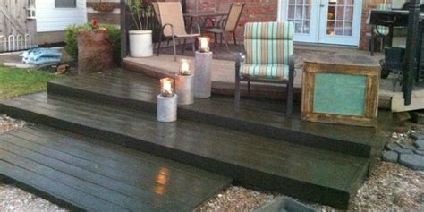 Skid Patio Furniture Remodelaholic Build A Wooden Pallet Deck For 300