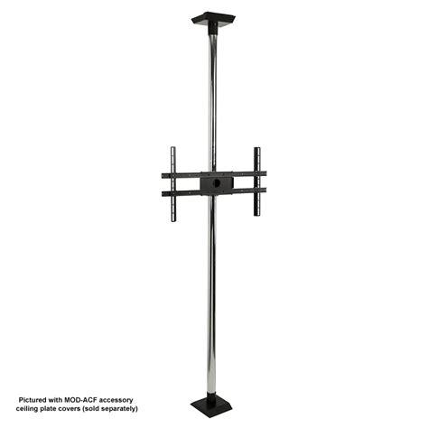 Tv Pole Mount Floor To Ceiling peerless modular series floor to ceiling tv mount kit