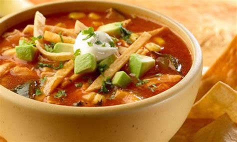 imagenes sopa azteca receta sopa azteca turimexico