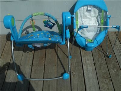 baby swing and bouncer set bright starts swing anywhere portablemusical swing