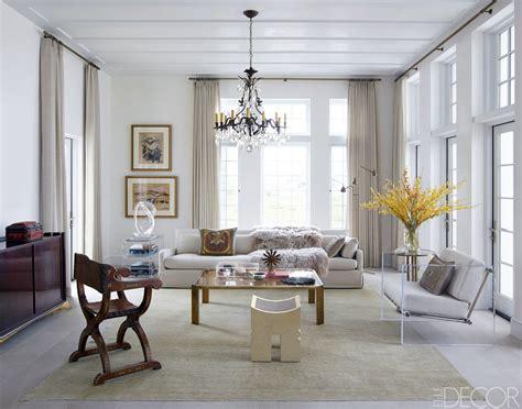 chic living room decorating ideas  design elle decor