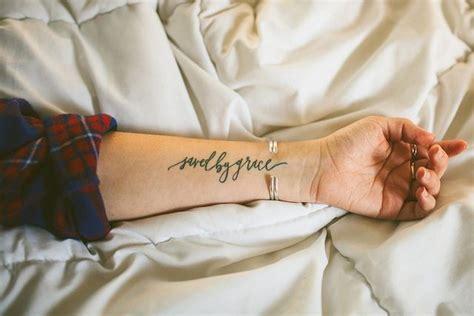 小臂上好看的英文纹身