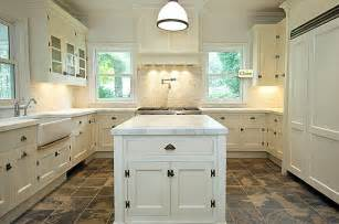 graceful shaped kitchen