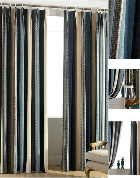 Multi Colored Curtains Drapes All You Want To About Striped Curtains Home And Textiles