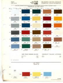 truck paint colors paint chips 1980 gmc chevy truck