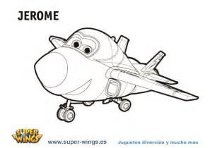 dibujos colorear super wings manualidades actividades super wings