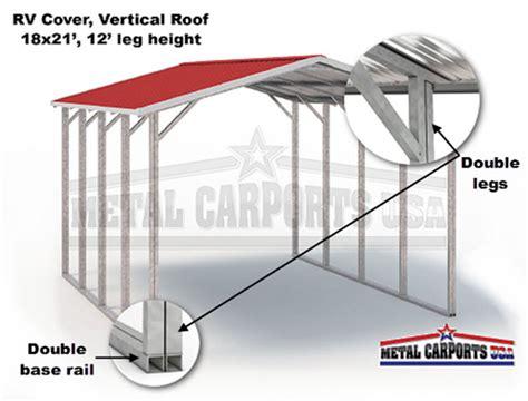 build   rv cover metal carports eagle metal carports rv covers metal garages
