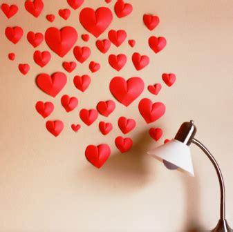 cara membuat hiasan dinding love bunga cinta 3d hiasan dinding dari kertas lipat warna