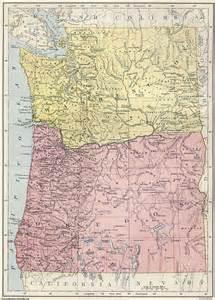 map of oregon and washington state washington oregon map adriftskateshop