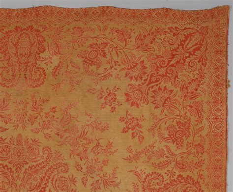 jacquard coverlet lot 852 2 jacquard coverlets red blue