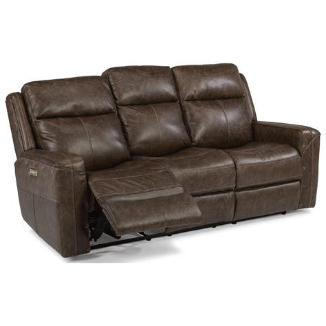 reclining sofa with usb port flexsteel latitudes gunner power reclining sofa with