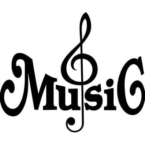 imagenes png musica unas hermosas y elaboradas letras forman en este adhesivo