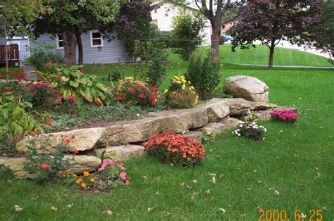cheap and easy landscaping ideas rock landscaping ideas