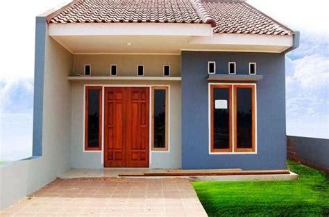 foto rumah minimalis sederhana modern tampak depan