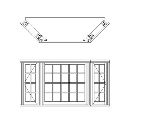 window section cad block bay window cad dwg cadblocksfree cad blocks free