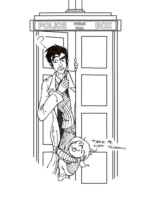 cute doctor coloring page dr who coloring page coloring kids coloring home