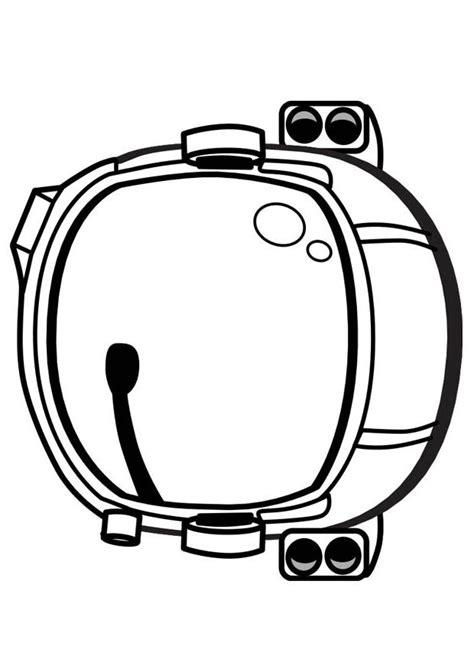 printable astronaut mask coloring page astronaut helmet kindergarten pinterest
