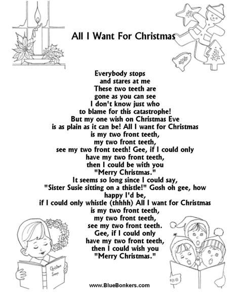 printable lyrics all i want for christmas is you bible printables christmas songs and christmas carol