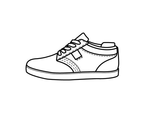 shoe coloring page printable shoe coloring page from freshcoloring