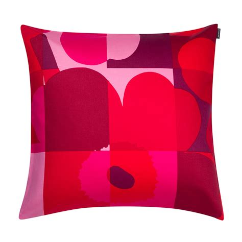 Marimekko Pillows Sale by Marimekko Ruutu Unikko Pink Throw Pillow Marimekko