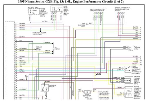 1995 nissan b14 wiring diagrams wiring diagrams