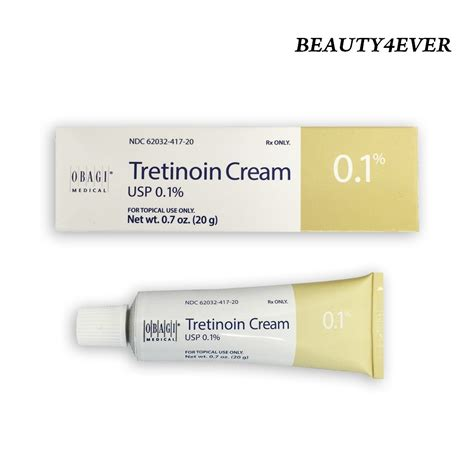 Retin A 0 1 Tretinoin obagi tretinoin 0 1 20g new packaging anti