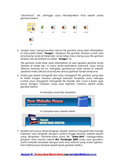 tutorial website c tutorial membuat website