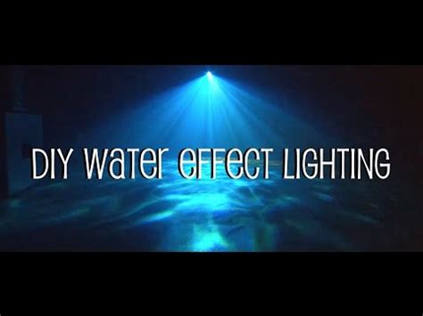 Ripple Daren Waves forcate led stage light water wave effect projector lig