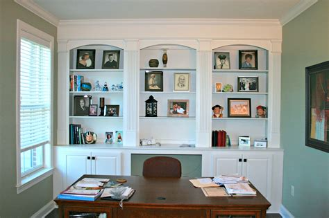 Bookcase Tv Wall Unit Home Offices Are Designed An Installed By Deacon Home