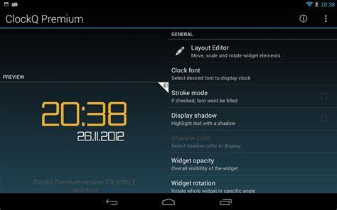 digital clock widget apk clockq digital clock widget apk android personalization apps