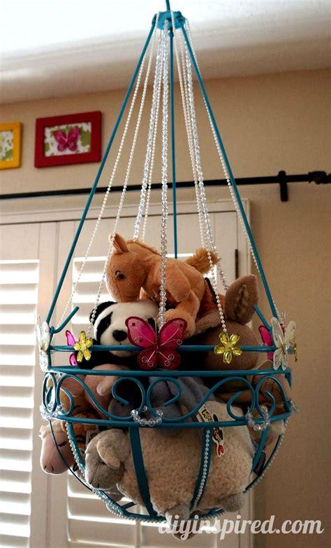 stuffed animal storage ideas create your own little zoo