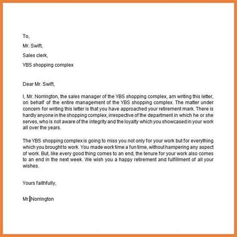 retiring letter of resignation ideas resignation letters exle part time resignation