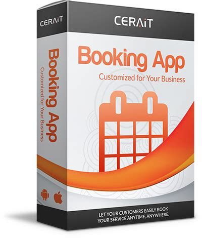mobile booking mobile booking app cerait inc custom software