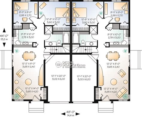 Duplex Plans With Garage by Classique Jumel 233 S Amp Bi G 233 N 233 Ration W3014 Maison Laprise Maisons Pr 233 Usin 233 Es