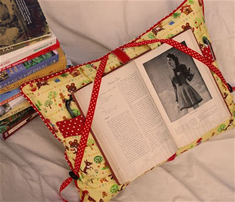 pattern for book holder pillow montessori by hand reading pillow pattern