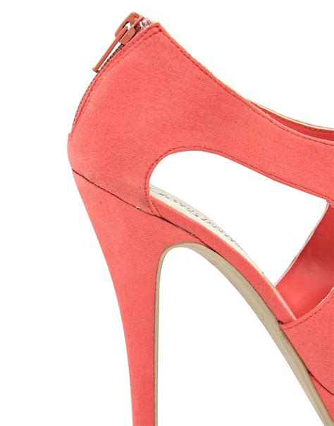 Punched Cut Out Platform Wedges At Asos by Object Moved