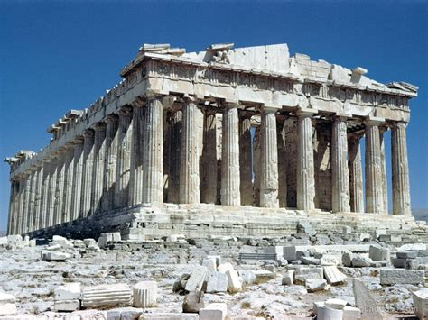 the parthenon someone has built it before