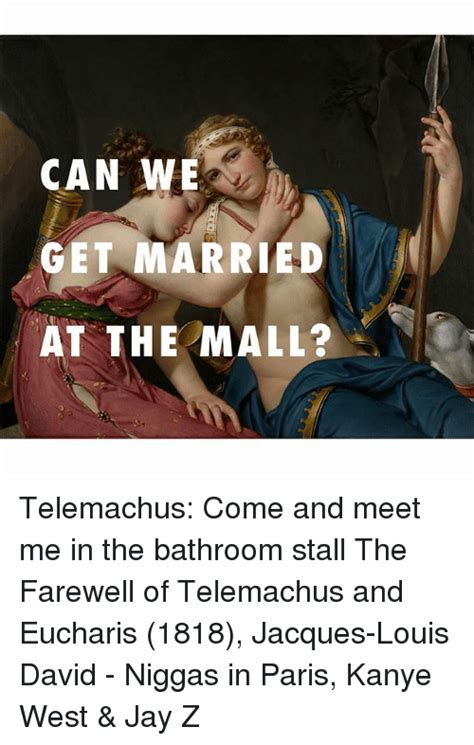 can we get married at the mall telemachus come and meet