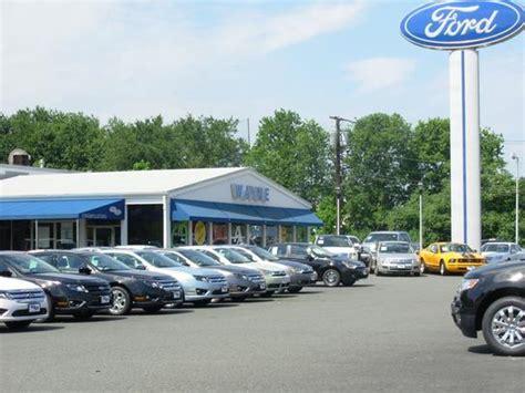 wayne ford wayne nj  car dealership  auto financing autotrader