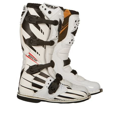 motocross racing boots fly racing youth maverik f4 mx kids childrens junior