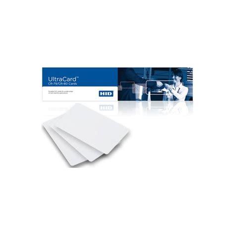Hid Ultracard Adhesive Blankcard by Jual Fargo Hid Adhesive Ultracard Cr80 500 Cards Pn