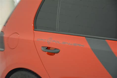 Autofolierung Singen by Teilfolierung Folierung Vw Golf 6 Gti Dfc Folienwerk